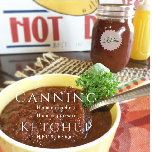 Canning Homemade Ketchup | sugar free | DIY | Homemade | Preserving Tomatoes | LivinLovinFarmin