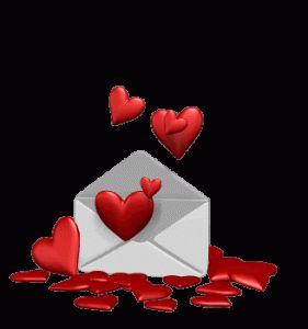 Imagen de amor de corazones en movimiento - http://www.imagenesdeamor.pro/2013/07/imagen-de-amor-de-corazones-en-movimiento.html