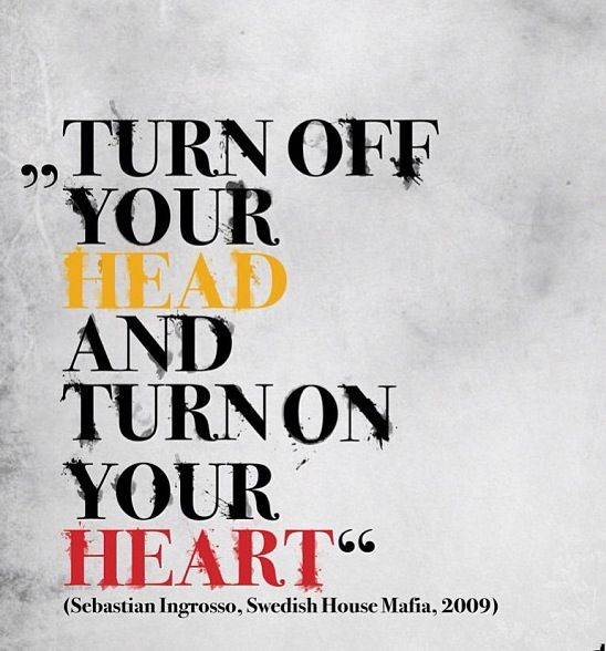 Quote, swedish house mafia, Sebastian Ingrosso