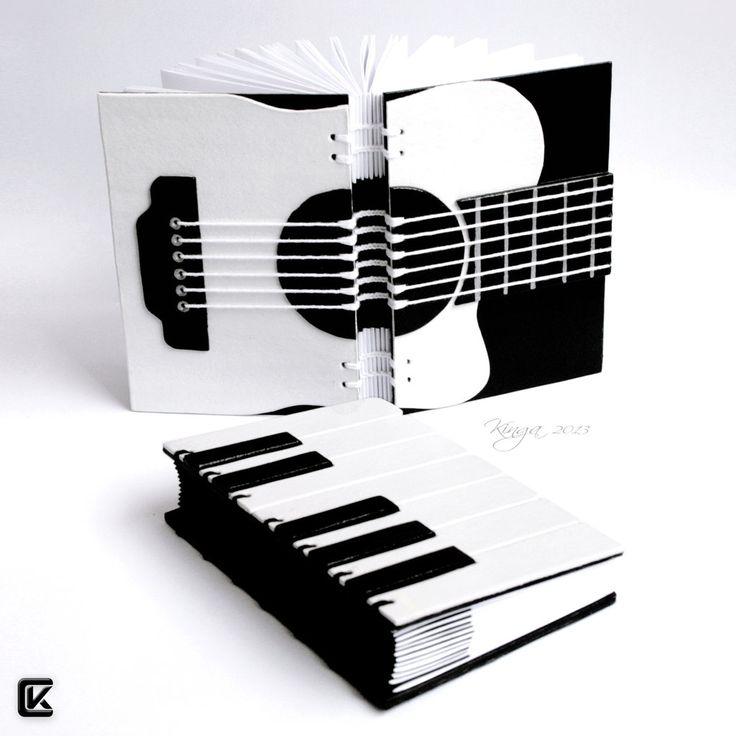 si te gusta la musica decora asi tu cuaderno
