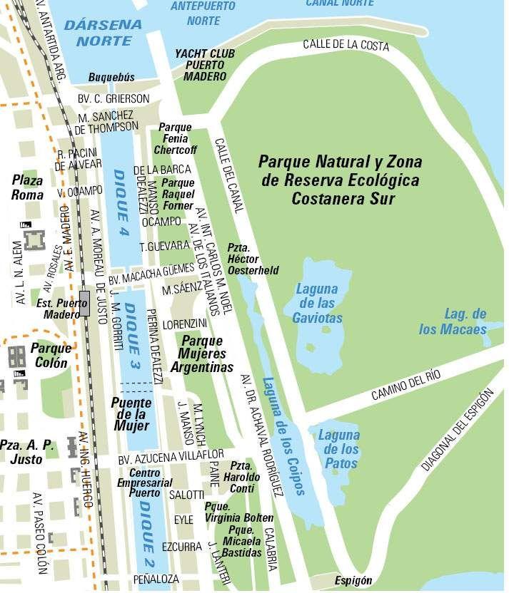 Buenos Aires – mapas e info (atrações)   Viagem Decaonline   Dicas de viagem