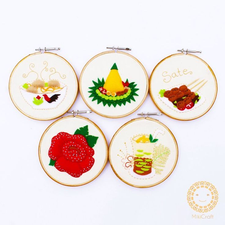 Indonesian traditional cuisine _ hoop art