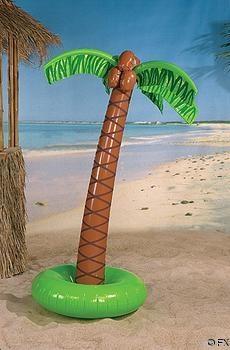 6FT INFLATABLE PALM TREE/Luau Party Decoration/Safari/Jungle/Beach/Pool