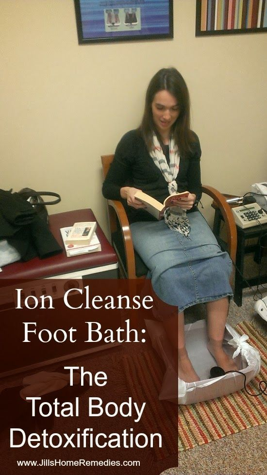 Jill's Home Remedies: Ion Cleanse Foot Bath: The Total Body Detoxification