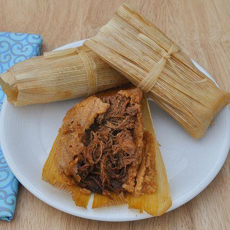 A tamale recipe very similar to my Nana's; using!