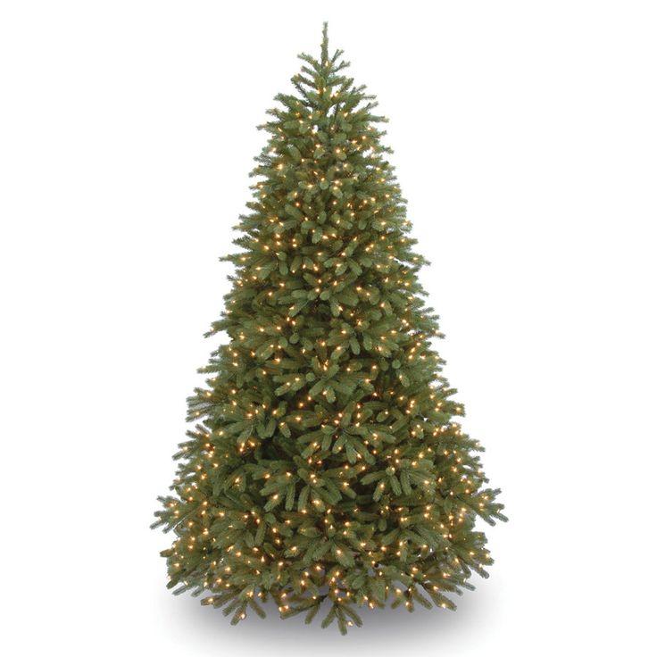 National Tree Co. Jersey Fraser Fir 7.5' Green Medium Artificial Christmas Tree…