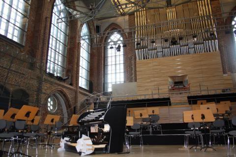 #Konzertkirche in #Neubrandenburg Foto: Susanne Eichler / NK #meckpomm #musik #orgel #kirche #konzert