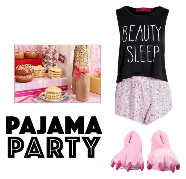 """pajama party!"" by secretxx on Polyvore"