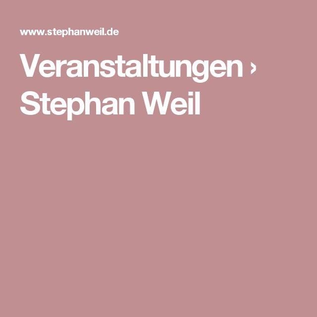 Veranstaltungen › Stephan Weil