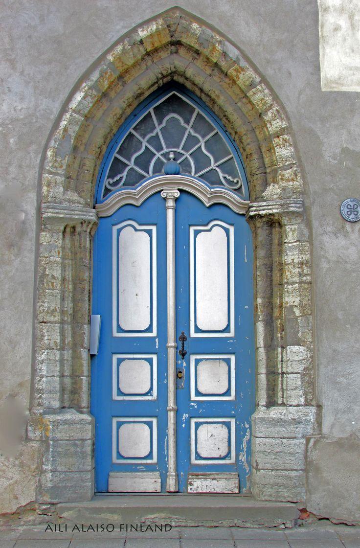 Blue door, Old TownTallinn Estonia   by Aili Alaiso