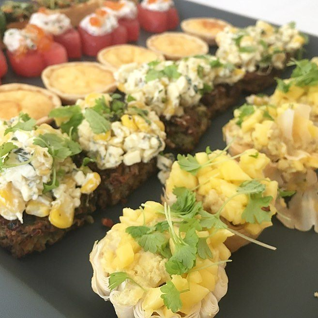 Craving this amazing selection of canapés from @amoveablefeastcateringperth my kind of food  #perthgirlboss #perthcatering #perthfood #pertheats #theperthcollective by theperthcollective