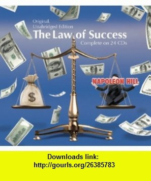 The Law of Success in Sixteen Lessons (Original, Unabridged Edition) Complete on 24 CDs (9780982005385) Napoleon Hill, Narrated by R. C. Ossenbach , ISBN-10: 0982005385  , ISBN-13: 978-0982005385 ,  , tutorials , pdf , ebook , torrent , downloads , rapidshare , filesonic , hotfile , megaupload , fileserve