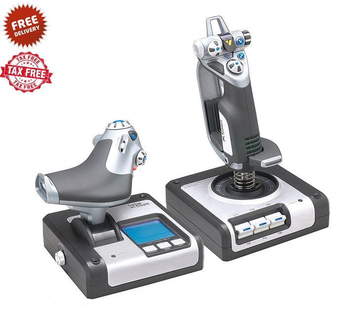 Flight Simulator Controls Logitech Joystick Throttle PC Controller G Saitek X52: $244.52 End Date: Sunday Mar-25-2018 6:28:12 PDT Buy It…
