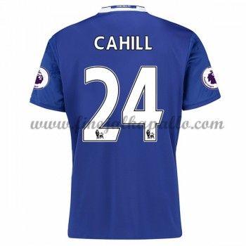 Jalkapallo Pelipaidat Chelsea 2016-17 Cahill 24 Kotipaita