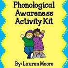 Phonological Awareness Activity Kit - 7 engaging phonological awareness activities that will last you ALL YEAR LONG! (blending, segmenting, isolating, and substituting sounds)