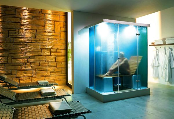 146 best innovative bathroom designs images on pinterest for Build steam shower