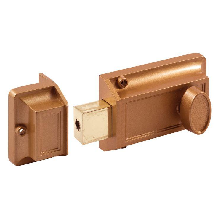 Gatehouse Steel Screen Door & Storm Door Cylinder Lock