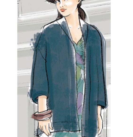 Modèle veste 3/4 Femme - Modèles Femme - Phildar