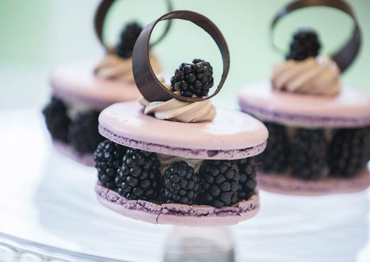 A sophisticated and lightly indulgent macaron recipe from Ruth Hinks. Patisserie Recipes by the UK World Chocolate Master.