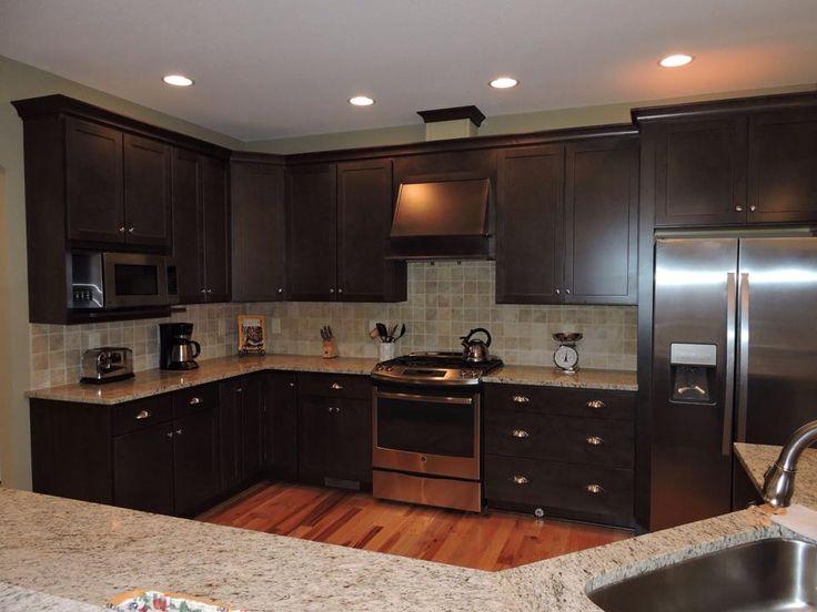 Kitchen cabinet homecrest cabinets maple buckboard for Kitchen design knoxville