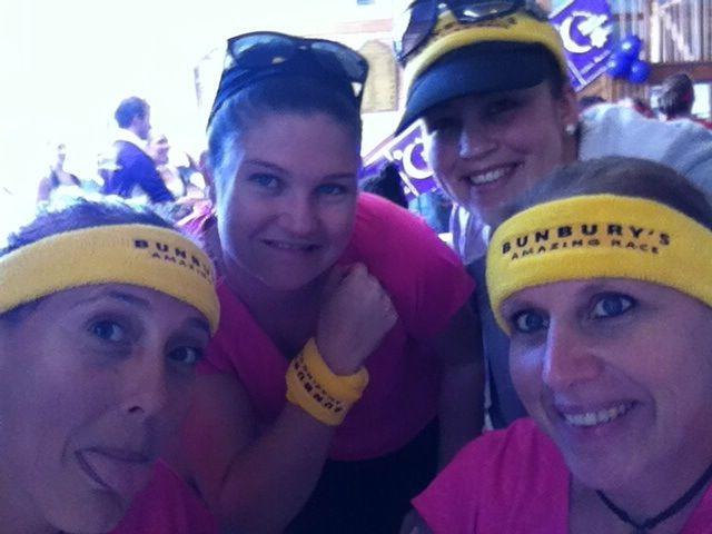 Having fun raising money for the Cancer Council at the Bunbury Amazing Race! Photo by Stacey Hart #amazingrace #cancercouncil #fundraise #DoSomethingPhoto
