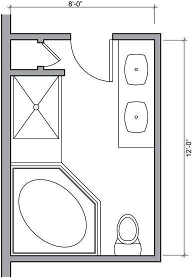 Magnificent 17 Best Ideas About Bathroom Layout On Pinterest Master Bath Largest Home Design Picture Inspirations Pitcheantrous