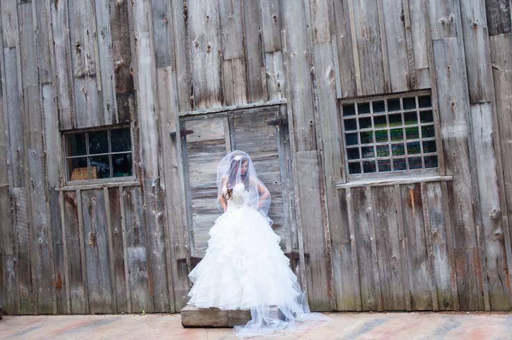 McMichael Art Museum bride rustic barn