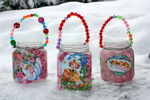 .cute craft idea for girls birthday party