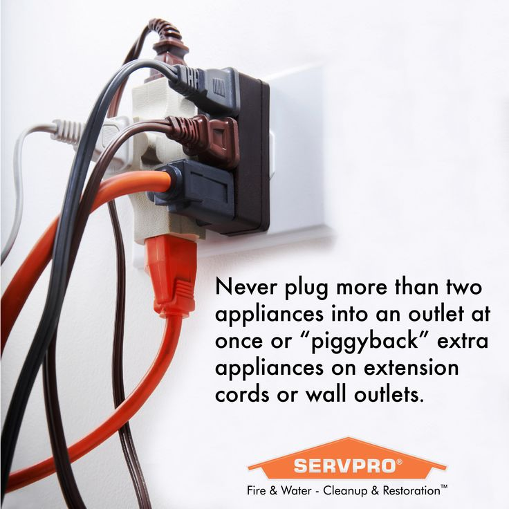 Electrical safety to reduce fire risk outlets and plugs