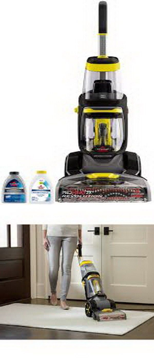 Bissell Proheat 2x Revolution Carpet Cleaner With Antibacterial