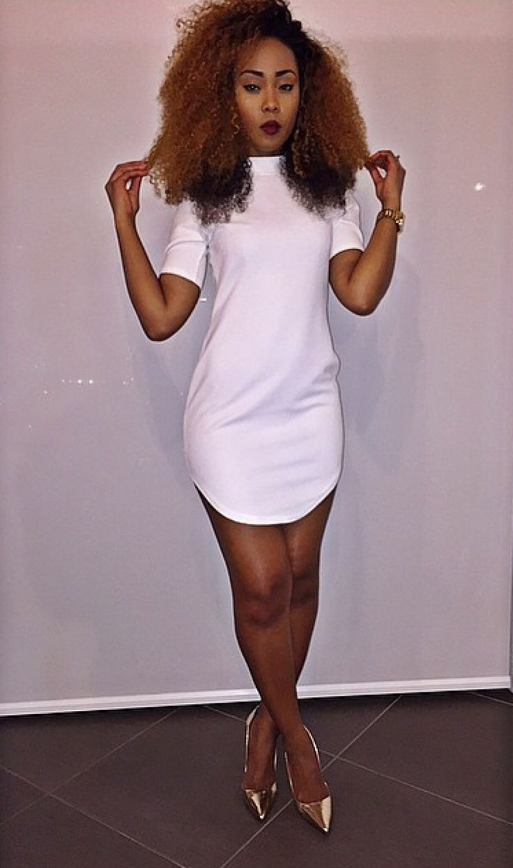 Style swag girl simple dresses