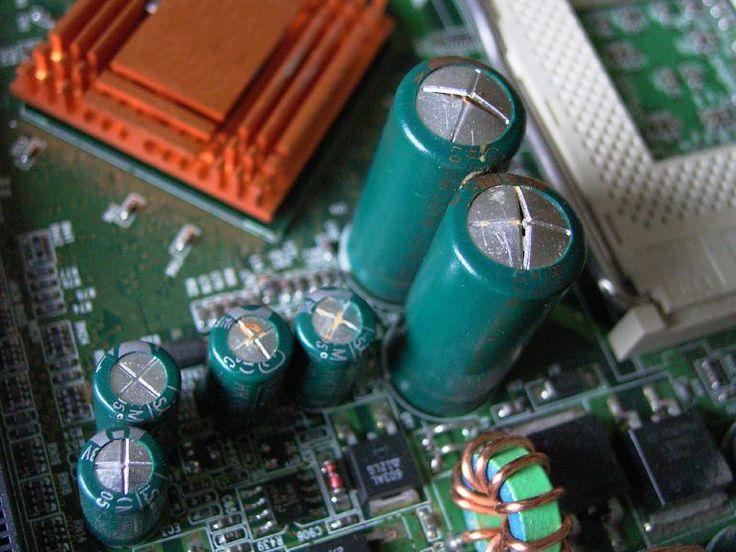 Bulging Electrolytic Capacitors.