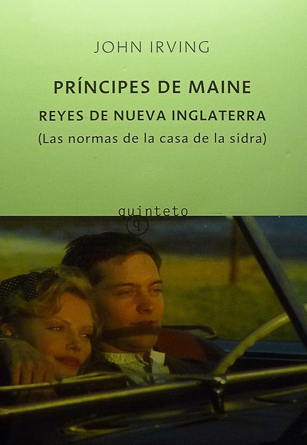 """""""Buenas noches príncipes de Maine, Reyes de Nueva Inglaterra"""" #Las normas de la casa de la sidra#"""