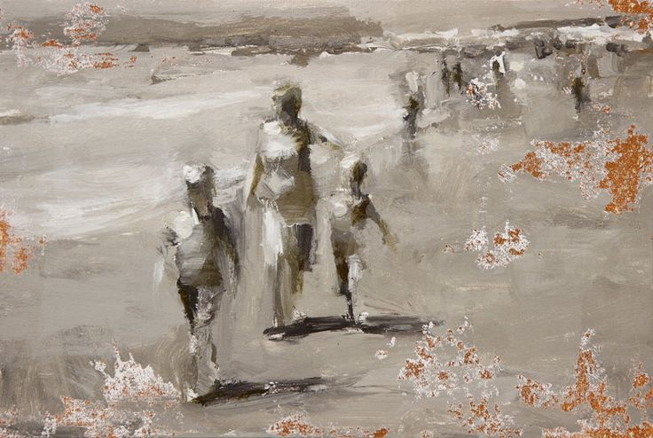 ESTATE | oil and acrylic on canvas | 33x48 cm | 2014 |Luigi Christopher Veggetti Kanku