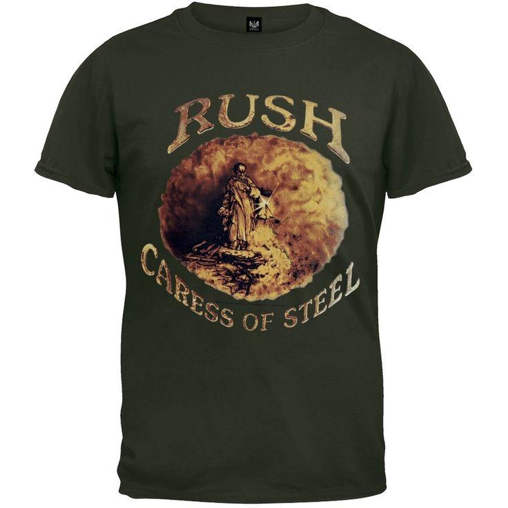 Rush - Caress Of Steel Overdye T-Shirt