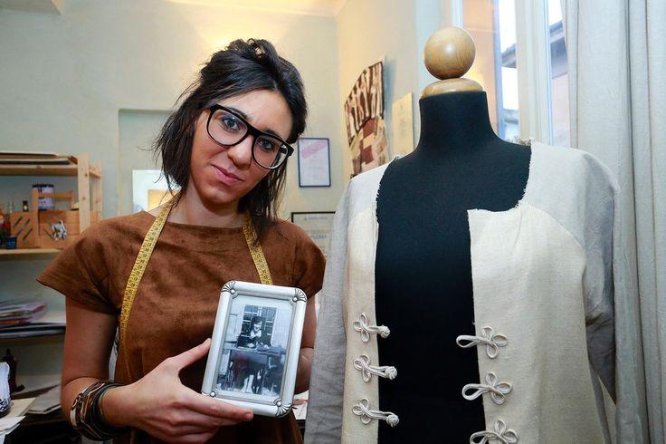 Cecilia, designer eco-sostenibile - http://gazzettadimodena.gelocal.it/modena/foto-e-video/2014/11/10/fotogalleria/cecilia-designer-eco-sostenibile-1.10283381?ref=search#1