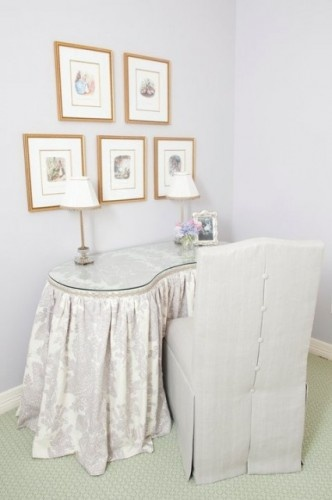 Fabric Dressing Table ~ Best images about vanities on pinterest window