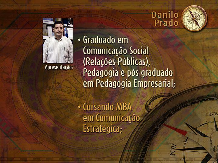Graduação do palestrante