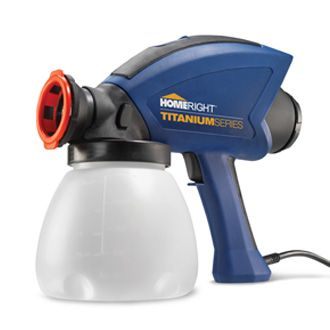 Homeright airless paint stain sprayers paint projects for Airless paint sprayer for kitchen cabinets