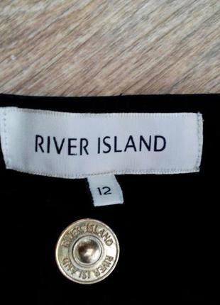 Шикарные черные шорты river island с высокой талией+(River Island)+ за+215+грн.