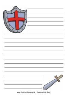 Shield writing paper!!