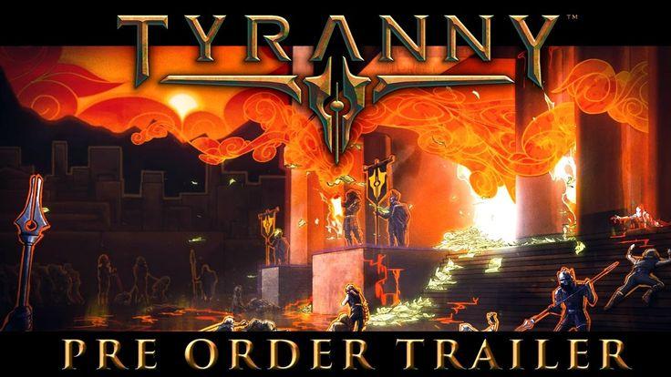 "Tyranny ""Fatebinder"" Release Date Reveal Trailer"