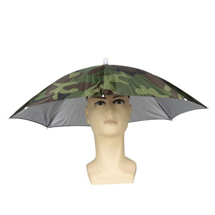 Fishing Suns Anti UV Daiva Elastic Foldable Headband  Sun Rain Umbrella Hat Cap Fishing ropa de pesca sunscreen