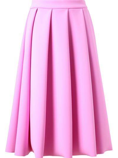 J.W. ANDERSON Pleated Neoprene Skirt