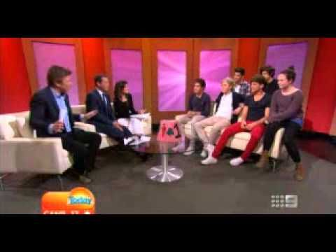 One Direction on Today Show AUSTRALIA Part 2!! :)