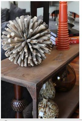 Driftwood ornament