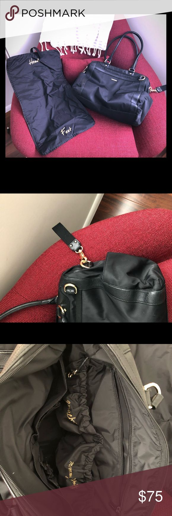 Rebecca Minkoff Diaper Bag Gently used beautiful diaper bag with changing pad. Also has stroller straps. Rebecca Minkoff Bags Baby Bags