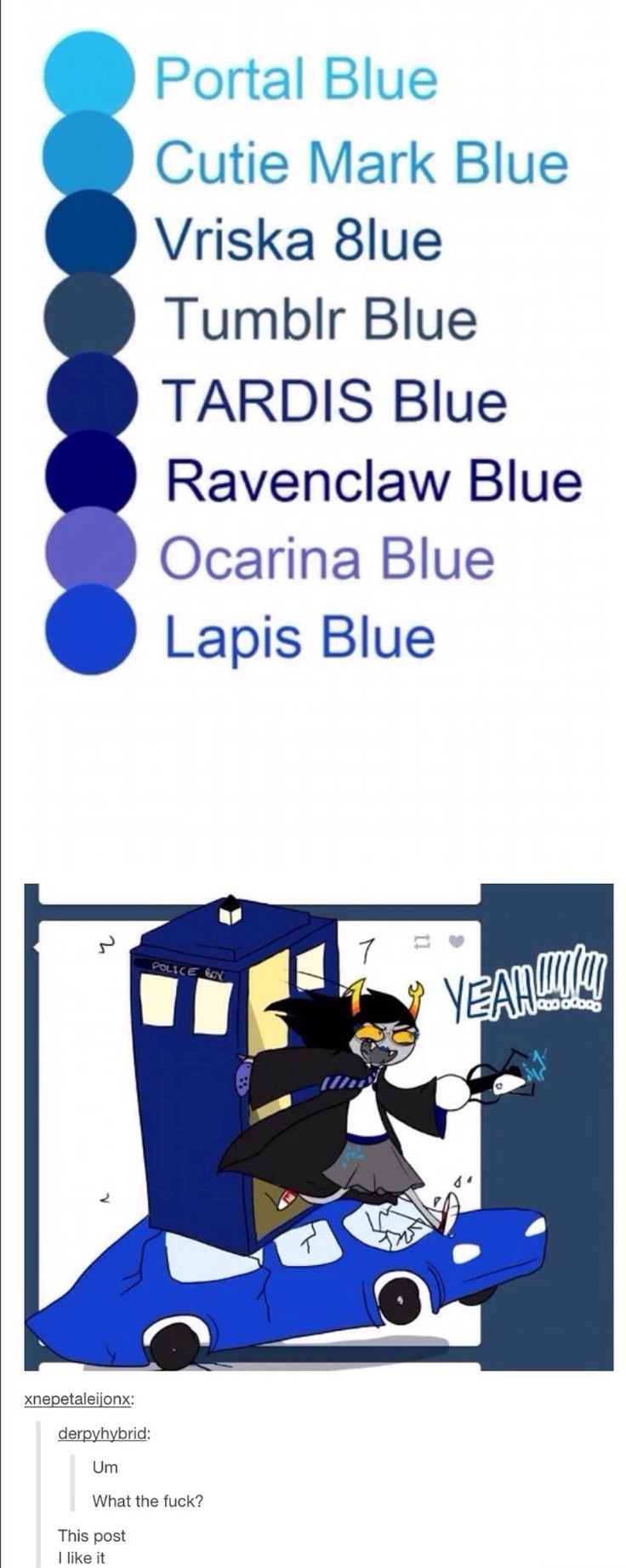 Oh my god all of my fandom's (I am obliged to post this to my Homestuck Board, however)