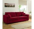 Leighton Large Sofa - Red | Large Sofas | ASDA direct
