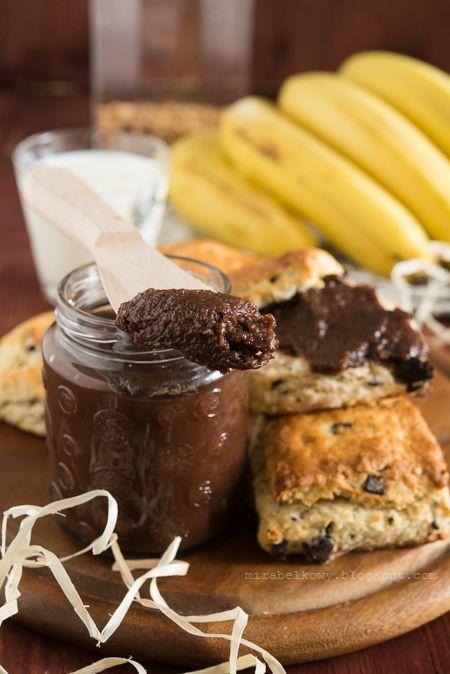 Krem czekoladowo-bananowy